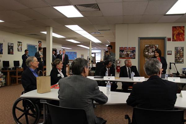 02-17-2017 Governor Abbott/Blended Learning Visit