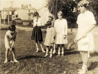 Ruffner Playground Croquet (02311)