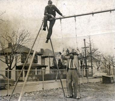 Two Men Working (01036)