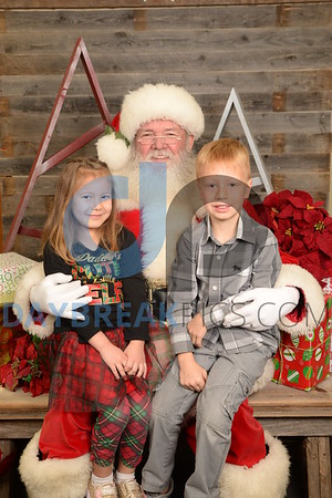 Santa and Me 2017 Camelot Edmond