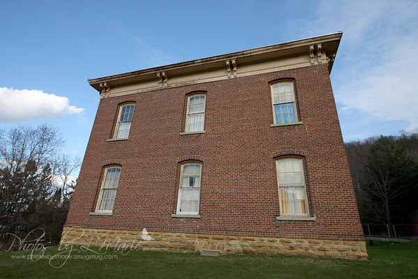 Reeds Landing, MN - Built in 1870 (2nd brick schoolhouse built in Minnesota)