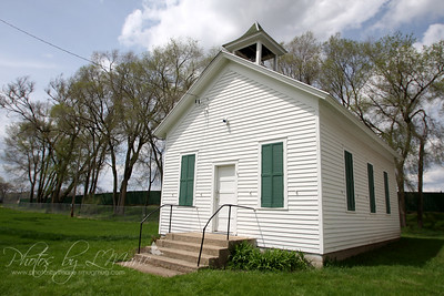 District No. 22 - Pleasant Valley School - Bridgewater Township, MN (Built in late 1850's)