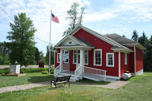 Larsmont Schoolhouse - Larsmont, MN - Built in 1914
