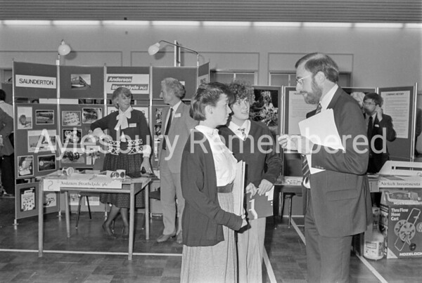 Careers Convention at Sir Henry Floyd Grammar School, May 1987