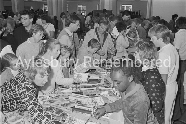 Sir Henry Floyd Grammar School fete, Oct 1987