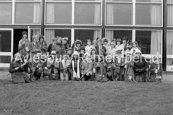 Toad of Toad Hall play at Sir Henry Floyd Grammar School, Dec 1981
