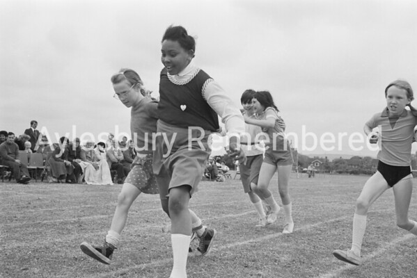 St Edward's Catholic Junior School sports, June 1978