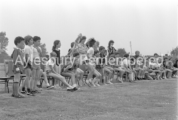 St Edward's Catholic Junior School sports, June 1983