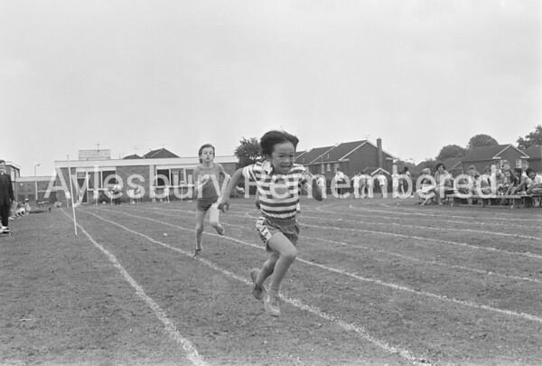 St Edward's Catholic Junior School sports, July 1987