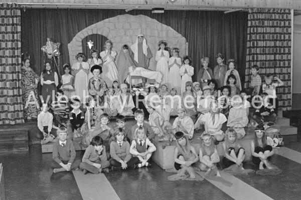 St Joseph's Catholic Infant School nativity, Dec 1983