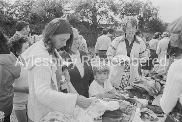 St Louis School fete, July 1977