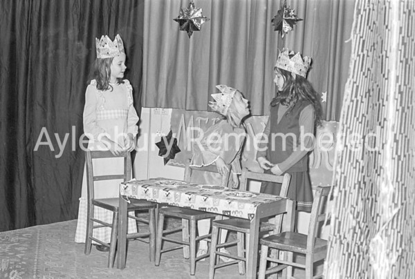 Christmas Play at St Mary's School, Dec 17 1975