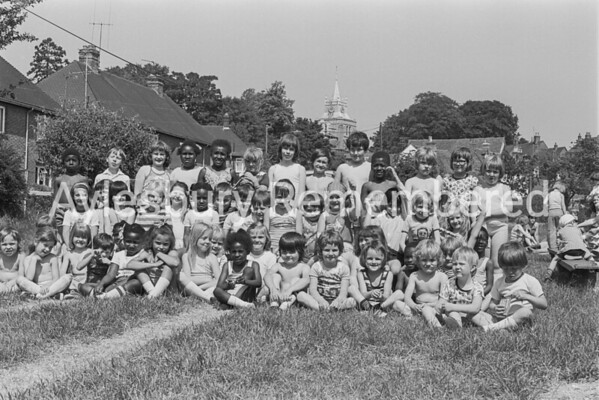 St Mary's School sports, July 1977