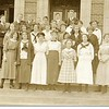 Lynchburg High School Student Class, ca. 1915  IV (09570)