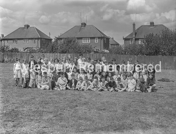 Tring Road County Primary School sports, June 13th 1956