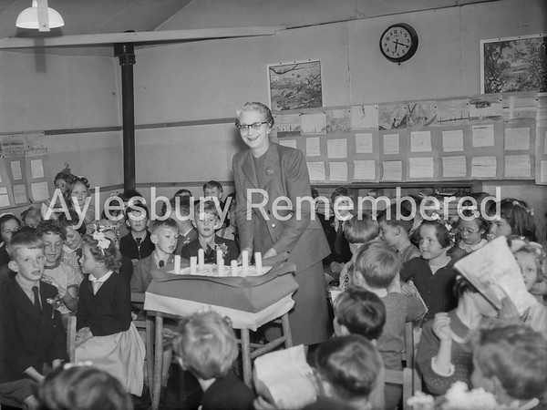 Tring Road County Primary School 8th Birthday, June 9th 1956