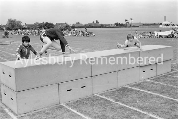 Turnfurlong School sports, June 1978