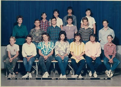 West Berrien School - 1985-86