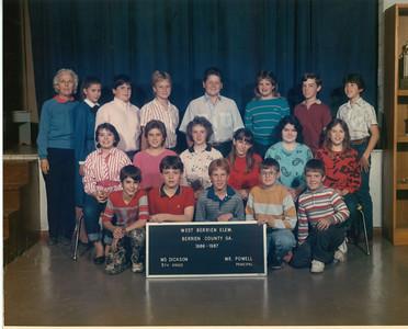 West Berrien School - 1986-87