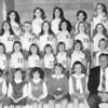 1969-70 West Berrien girls basketball team and cheerleaders