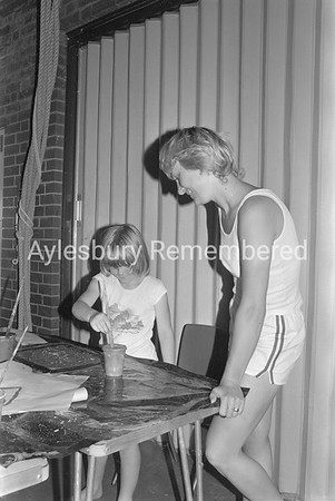 William Harding School play scheme, Aug 1981