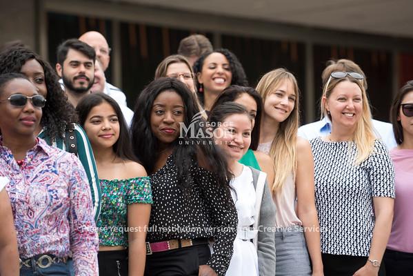 Students exploring Washington, DC.  Photo by Bethany Camp/Creative Services/George Mason University
