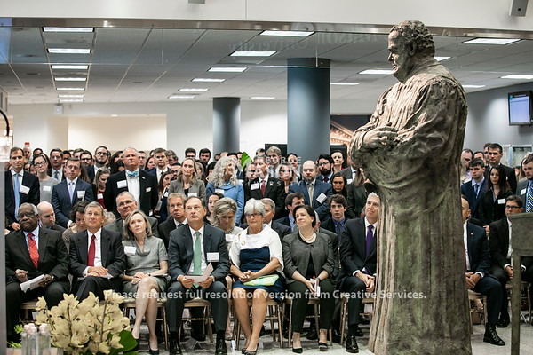 Unveiling of the Antonin Scalia Statue