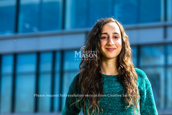 Sheryne Zeitoun, a senior studying Community Health, became interested in infectious diseases while growing up in her home country of the Gambia in West Africa. Photo by Lathan Goumas/Strategic Communications