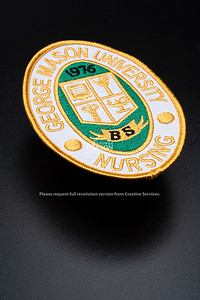 Nursing patch, School of Nursing, College of Health and Human Services.  Photo by:  Ron Aira/Creative Services/ George Mason University
