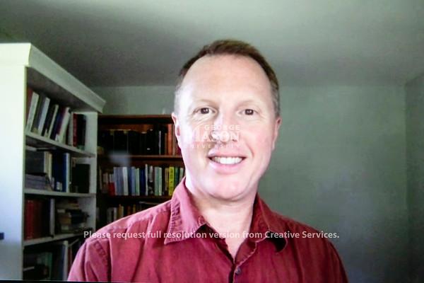 Michael Malouf, Associate Professor, English.  Photo by:  Ron Aira/Creative Services/ George Mason University