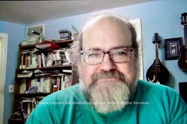 Dean Taciuch, Term Professor, English.  Photo by:  Ron Aira/Creative Services/ George Mason University