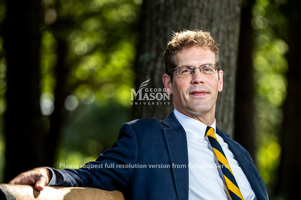 Brian Platt is the Presidential Fellow for the academic year 2018-19. Photo by Lathan Goumas/Strategic Communications
