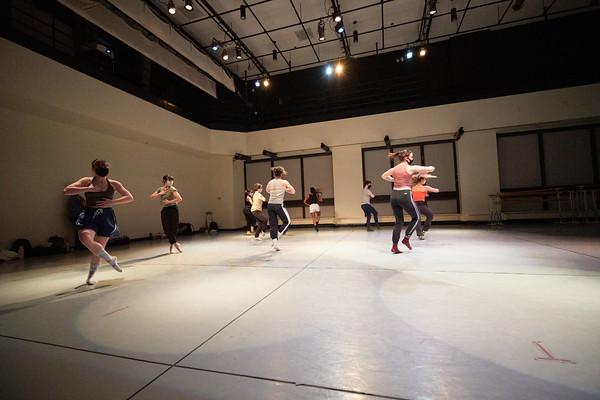 GMU School Of Dance Workshop, Photo By Ian Shiff/Creative Services/George Mason University