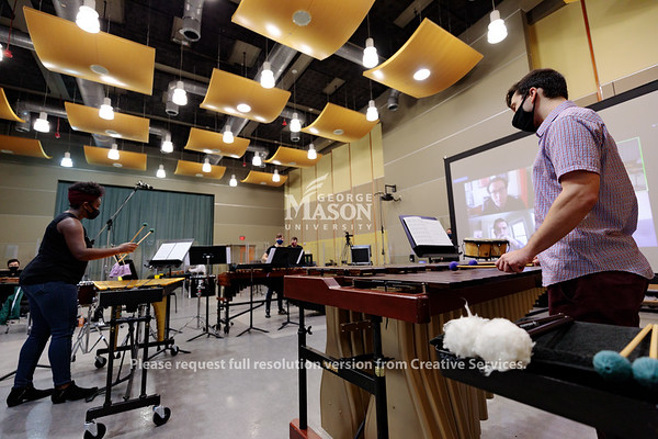 School of Music Artist in Residence, Photo By Ian Shiff/Creative Services/George Mason University