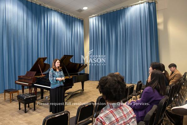Simone Dinnerstein Piano Masterclass