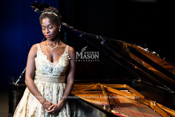 Crystal Golden performs at the Center for the Arts. Photo by Lathan Goumas/Strategic Communications