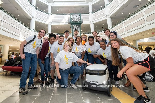 Starship Technologies and the University Chorale
