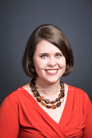 Sarah Jones, Payroll & Benefits Specialist, Mercatus Center. Photo by:  Ron Aira/Creative Services/George Mason University