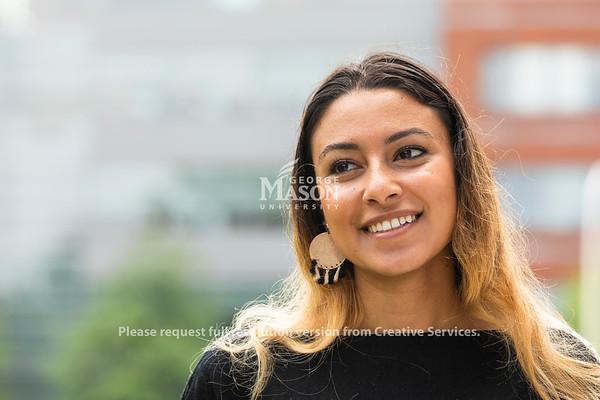 George Mason student Youstina Abdelmalak. Photo by Lathan Goumas/Strategic Communications