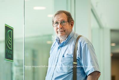 Mark Pullen, professor of Computer Science at Volgenau School of Engineering at George Mason University.  Photo by:  Ron Aira/Creative Services/ George Mason University