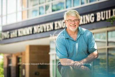Jeff Offutt, Professor, Computer Science, Volgenau School of Engineering.  Photo by:  Ron Aira/Creative Services/ George Mason University