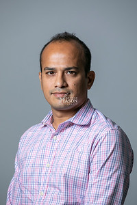 Huzefa Rangwala, Professor, Computer Science.  Photo by:  Ron Aira/Creative Services/George Mason University