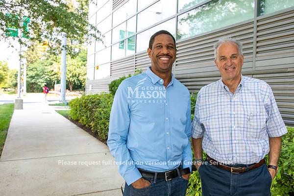 Hakeem Oluseyi named Robinson Professor. Photo by: Shelby Burgess/Strategic Communications/George Mason University