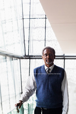 Spencer Crew, Robinson Professor, will take a leave of absence from Mason to lead the National Museum of African American History and Culture during the search for a permanent director. Photo by Lathan Goumas/Strategic Communications