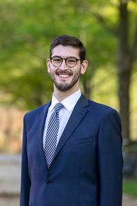 Schar student Steve Elmer received the Alexis de Tocqueville Award. Photo by: Shelby Burgess/Strategic Communications/George Mason University