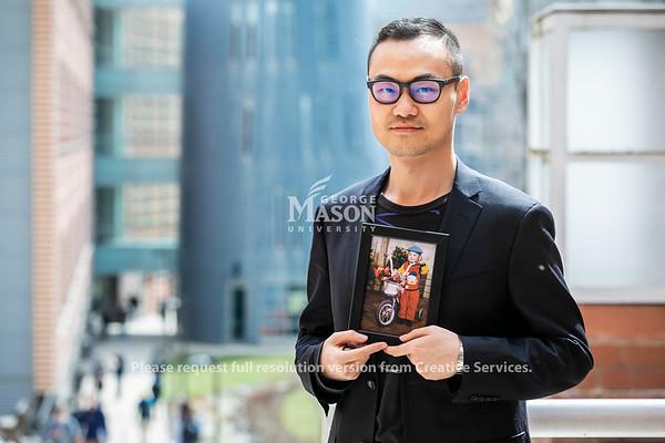 Jiasun Li, Photo by:  Ron Aira/Creative Services/George Mason University