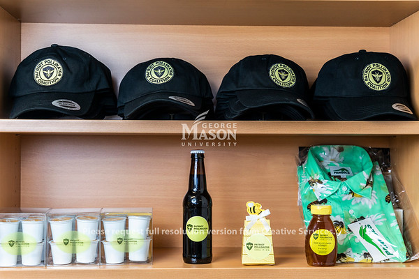 A collection of products sold by the Patriot Pollinators Coalition. Photo by Lathan Goumas/Strategic Communications