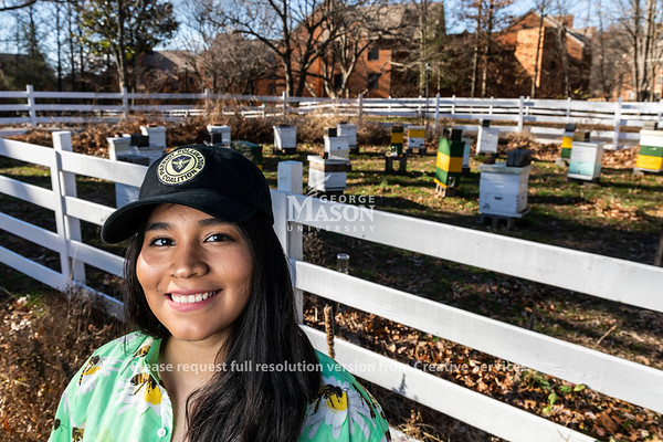 Soulin Reyes of the Patriot Pollinators Coalition. Photo by Lathan Goumas/Strategic Communications