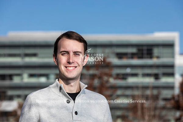 Gerry Souser plans to use the management skills he learned at Mason to work at Capital One. Photo by Lathan Goumas/Strategic Communications