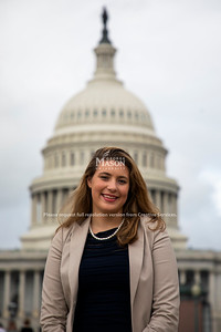 Marina Chafa, Conflict Analysis and Resolution major, interned for Senator Elizabeth Warren over the summer. Photo by Lathan Goumas/Strategic Communications
